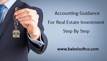 Accounting Guidance For Real Estate Investment Step By Step