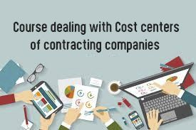 Course dealing with Cost centers of contracting companies