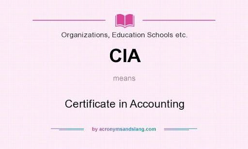 ما يجب ان تعرفة عن شهادة المدقق الداخلى المعتمد  CIA